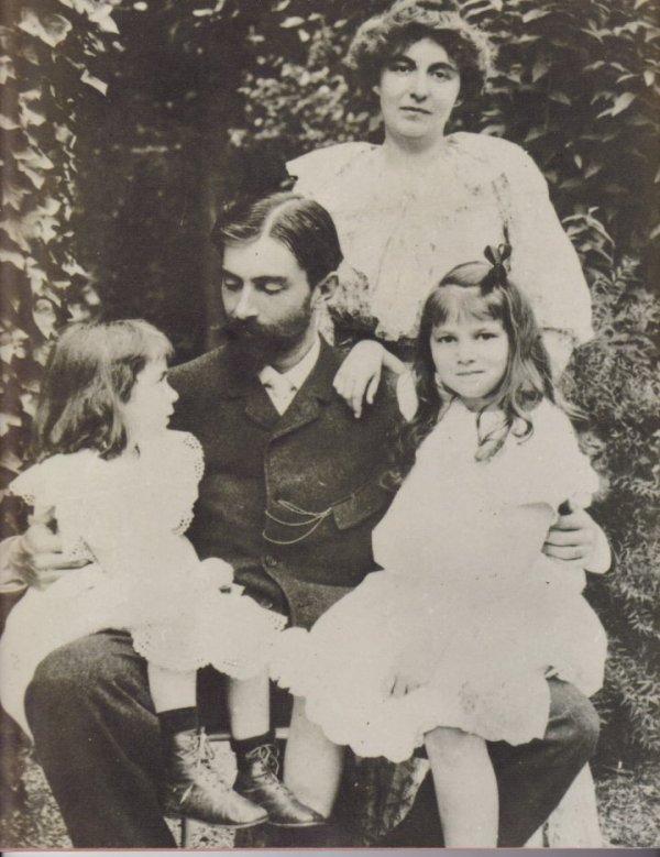 Ses filles et le Christ