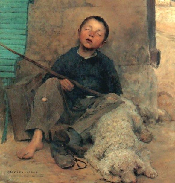Le sommeil d'un enfant