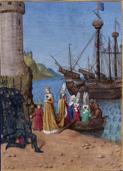 J'aime Jean Fouquet (XVième siècle) le maître du rouge et bleu