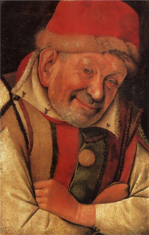 Portrait d'un humble par Jean Fouquet