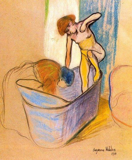 Le bain hors Bonnard