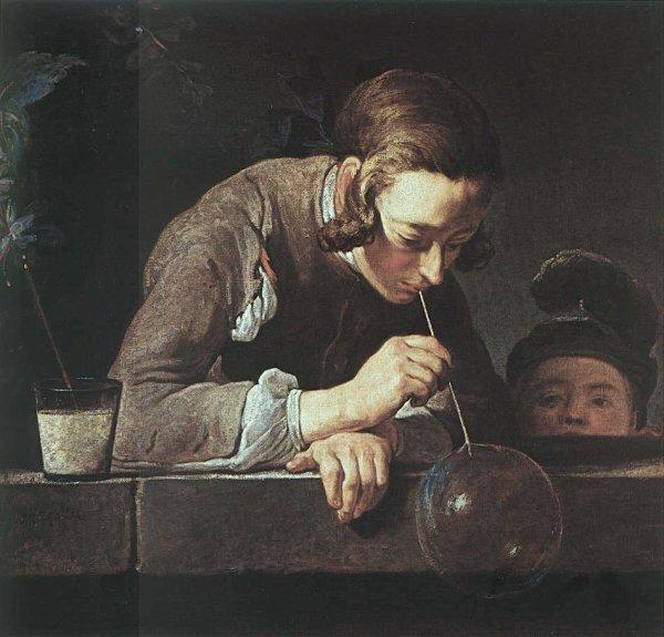 J'aime les scènes de la vie quotidienne par Chardin