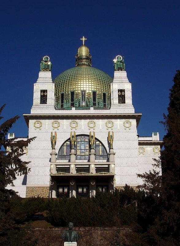 J'aime l'église Am Steinhof de Otto Wagner