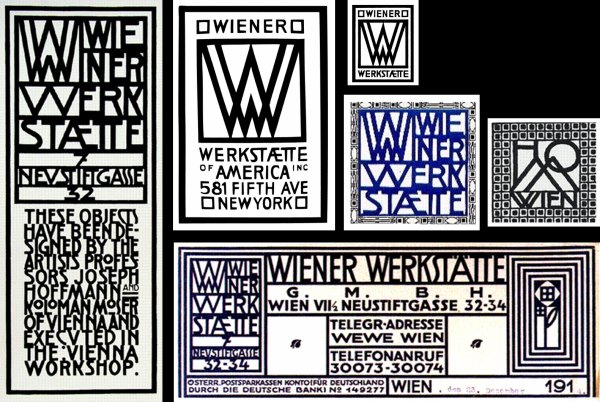 J'aime le graphisme de la Wiener Werkstätte