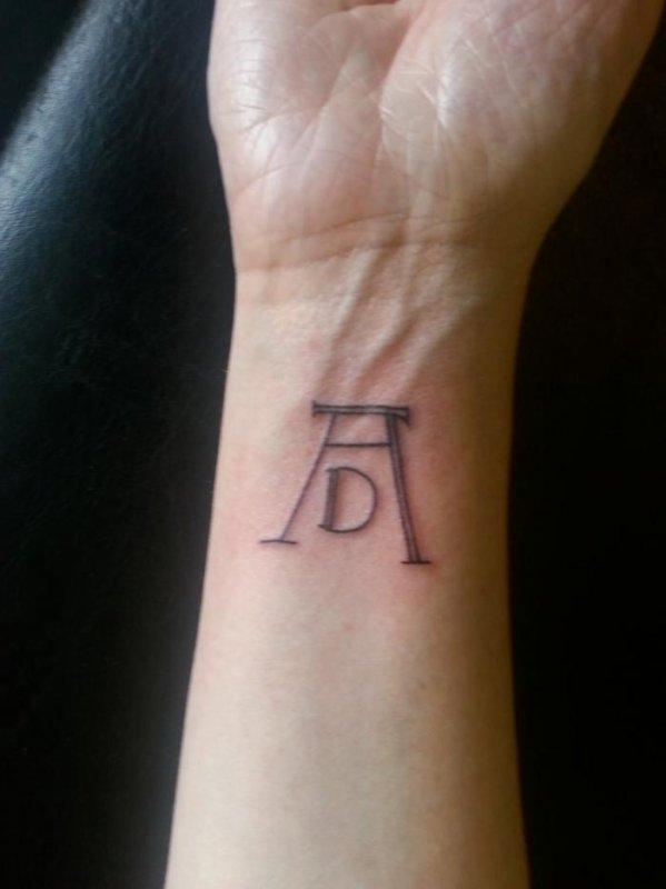 J'ai mon tatouage !
