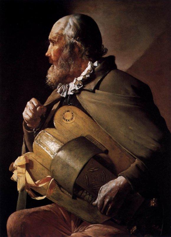 Leiermann, le joueur de vielle