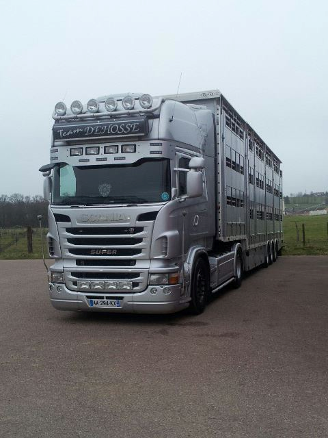 Scania v8 ( photo prise par mes soins )