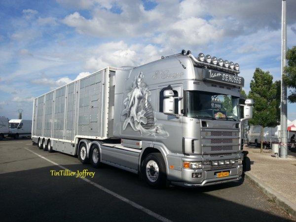 Scania longline v8 580 ( Photo prise par mes soins )