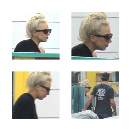 Le 16 janvier Gaga a été aperçue avec son amoureux Taylor Kinney a Hermosa Beach