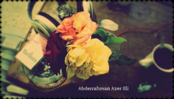 <3 Une café avec l'odeur des roses <3 hihi !!