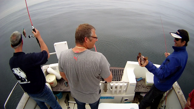 Sortie en mer des 4 mousquetaires samedi 30 mai 2015