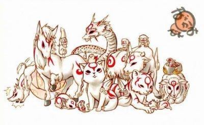 Amaterasu Omikami et les 13 Fudegami
