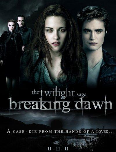 L'affiche de Twilight 4 Révélation partie 1