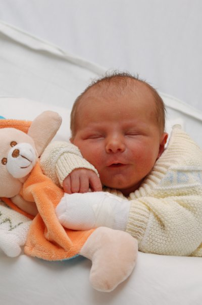 mon fils tro bo (les foto de naissance a losto)