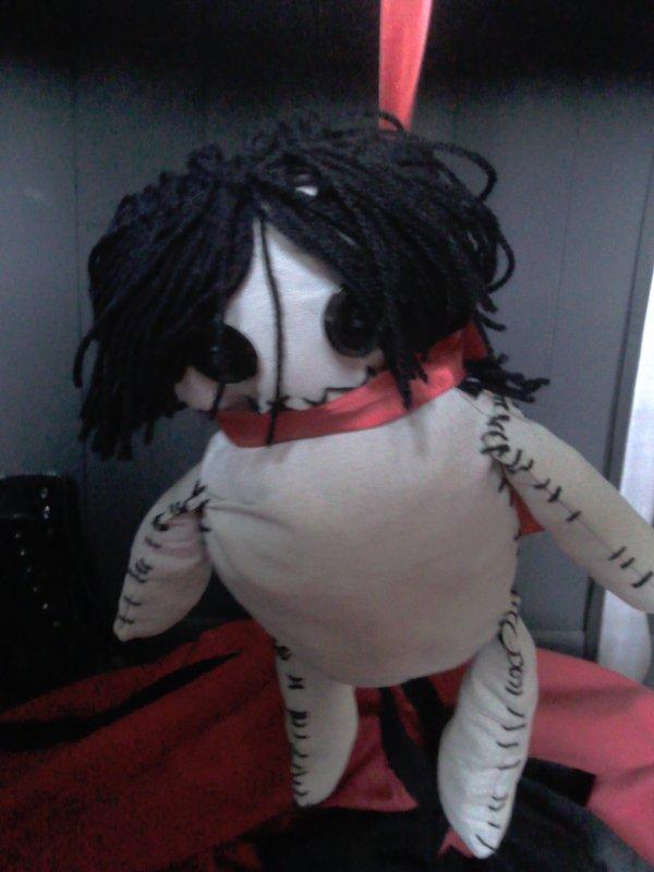 Peluche Sebastian par Legist-Sama