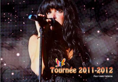 Tournée 2011-2012
