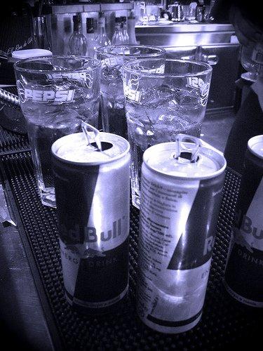 Barman! Deux Vodka Redbull S'il Vous Plait! (: