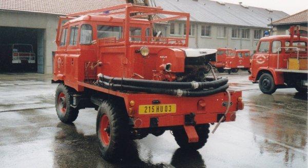 Le CCFL Land Rover 110 du CSP Montluçon .