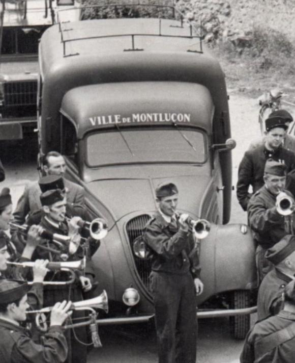 VL du CSP Montluçon 1950 .