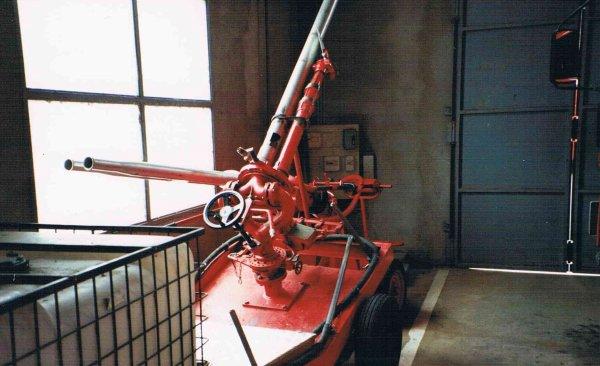 Les lances Canon du CSP Montluçon .( Photo de Daniel BORDIER )