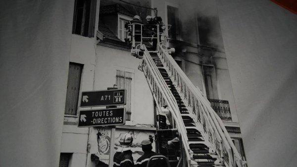 Feu ville Gozet a Montluçon le 6/10/96 . ( Merci a Fabrice Berger pour la Photo ) .