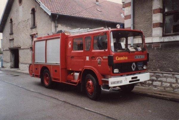 Ancien FPT Renault S170 du CSP Montluçon .