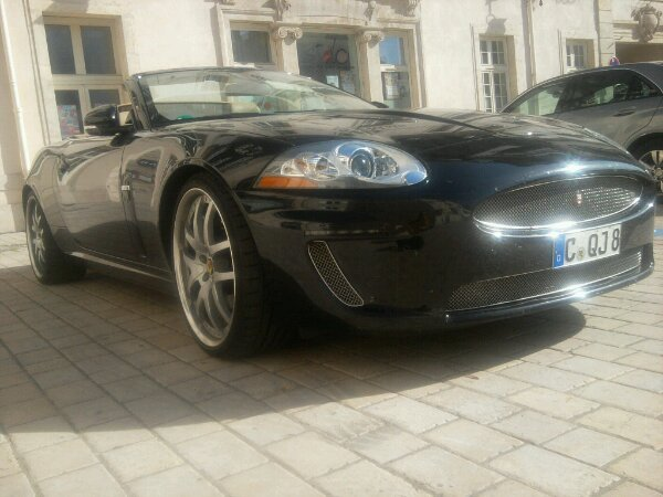 jaguar xkr sous preparateur arden