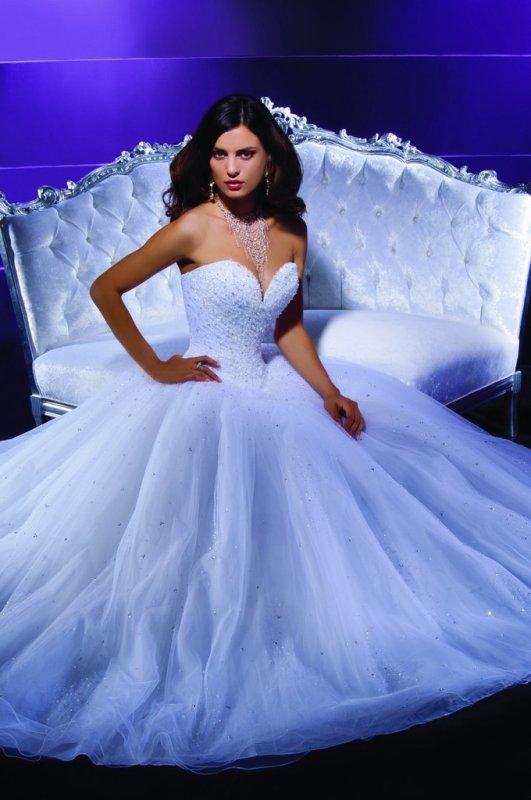 Robes de marier bleu