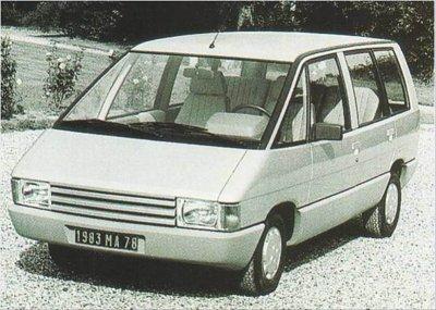 La genèse de la Renault Espace