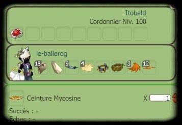Mycosine et bottes hertie, rien de mieux pour un Sadi !