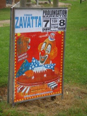 Cirque Alfredo Zavatta and co à Barentin (76) du 3 au 8 septembre 2013
