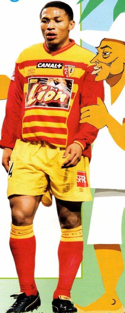 Saison 2000 01 short coupe de la ligue collection de maillots du rc lens - Rc lens coupe de la ligue ...