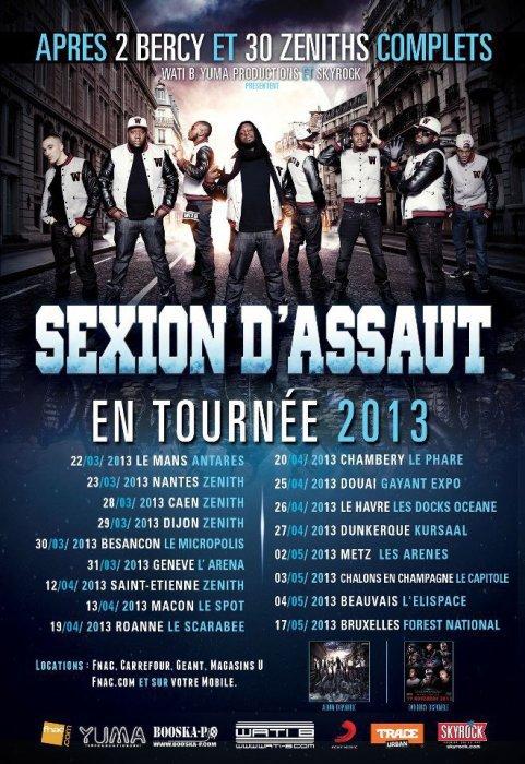 Tournée 2013 !!!!!! :D