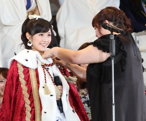 élection senbatsu sousenkyo 37th single center 2