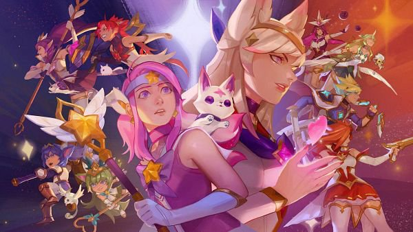 Les personnages que je joue sur League Of Legends