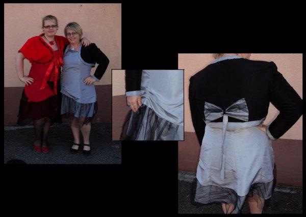 Robe et Gilet pour ma maman =)