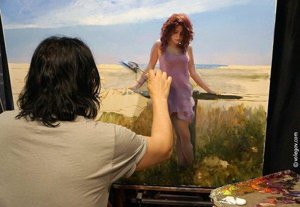 Peinture et artiste