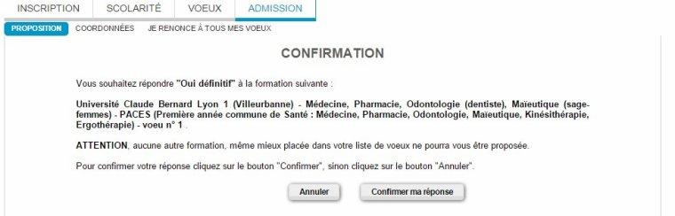 APB : admission en Première Année Commune aux Etudes de Santé ! (PACES)