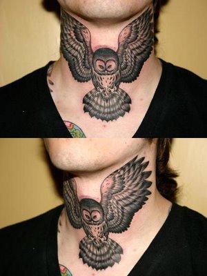 La Chouette Tatouages Tattoo Et Tatoo