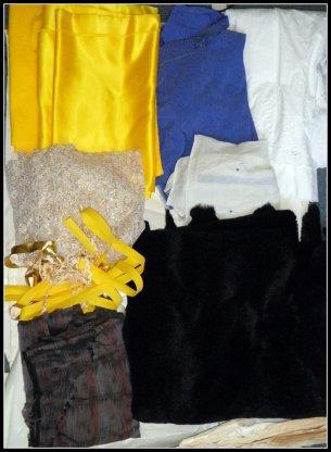 Préparation costume nouveau numéro