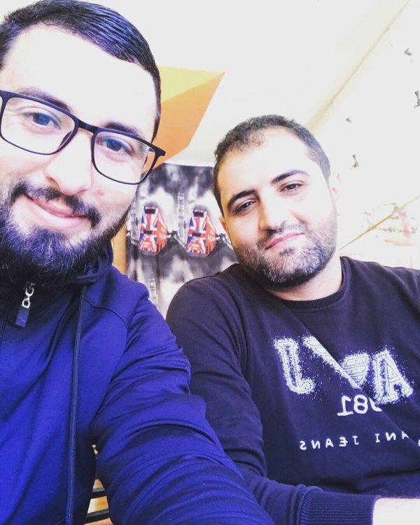 Avec mon cher ami intime Mokhtar :)