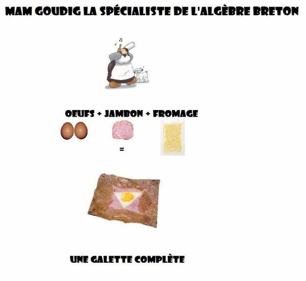 L'agèbre Breton