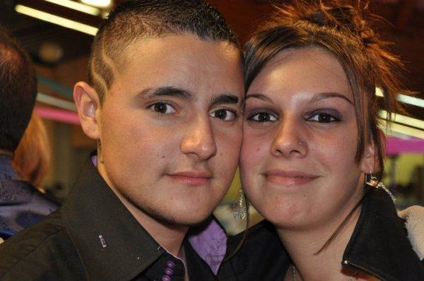 Au mariage de ma belle soeur avc mon chéri !!!!!!!!!!!!