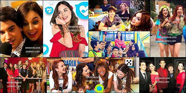 DIVERS : Plusieurs photos de Valeria,lors du tournage de «Que Talento!» sont apparus.