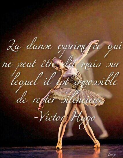 la danse est un po 232 me dont chaque mouvement est un mot de proverbe citations