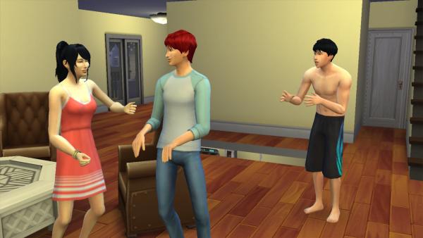 Sims: Les colocs de Paris #6