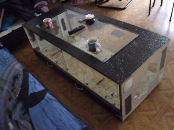 Fabrication D Une Table Basse Terrarium Blog De Elaphes Mania