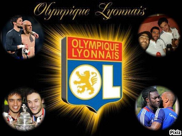 Parce que l'Olympique Lyonnais est une formidable raison d'être heureux <3