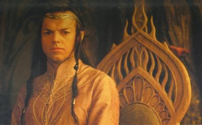 Le Roi Elronde Peredhel et son fils