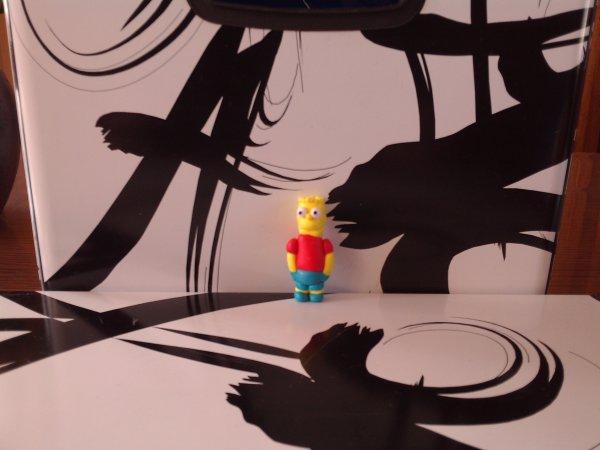 La figurine Bart Simpson
